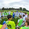 Hamilton College head coach Perry Nizzi, Team<br /> <br /> 9/21/21 4:26:17 PM Men's Soccer: Ithaca College v Hamilton College at Love Field, Hamilton College, Clinton, NY<br /> <br /> Final: Ithaca 1     Hamilton 1<br /> <br /> Photo by Josh McKee