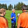 Hamilton College head coach Perry Nizzi<br /> <br /> 9/25/21 1:43:35 PM Men's Soccer: Middlebury College v Hamilton College at Love Field, Hamilton College, Clinton, NY<br /> <br /> Final: Middlebury  1  Hamilton 0<br /> <br /> Photo by Josh McKee