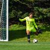 Hamilton College goalkeeper Ben Ziegler (1)<br /> <br /> 9/25/21 2:02:35 PM Men's Soccer: Middlebury College v Hamilton College at Love Field, Hamilton College, Clinton, NY<br /> <br /> Final: Middlebury  1  Hamilton 0<br /> <br /> Photo by Josh McKee