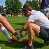 Trainer<br /> <br /> 9/25/21 1:35:20 PM Men's Soccer: Middlebury College v Hamilton College at Love Field, Hamilton College, Clinton, NY<br /> <br /> Final: Middlebury  1  Hamilton 0<br /> <br /> Photo by Josh McKee