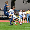 Hamilton College forward Greg Zimmerman (28)<br /> <br /> 9/25/21 1:55:46 PM Men's Soccer: Middlebury College v Hamilton College at Love Field, Hamilton College, Clinton, NY<br /> <br /> Final: Middlebury  1  Hamilton 0<br /> <br /> Photo by Josh McKee