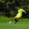 Hamilton College goalkeeper Ben Ziegler (1)<br /> <br /> 9/25/21 1:54:48 PM Men's Soccer: Middlebury College v Hamilton College at Love Field, Hamilton College, Clinton, NY<br /> <br /> Final: Middlebury  1  Hamilton 0<br /> <br /> Photo by Josh McKee
