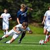 Hamilton College M Roth Wetzel (10)<br /> <br /> 9/25/21 1:58:03 PM Men's Soccer: Middlebury College v Hamilton College at Love Field, Hamilton College, Clinton, NY<br /> <br /> Final: Middlebury  1  Hamilton 0<br /> <br /> Photo by Josh McKee
