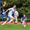 Hamilton College forward Greg Zimmerman (28)<br /> <br /> 9/25/21 1:55:45 PM Men's Soccer: Middlebury College v Hamilton College at Love Field, Hamilton College, Clinton, NY<br /> <br /> Final: Middlebury  1  Hamilton 0<br /> <br /> Photo by Josh McKee