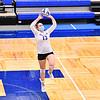 Hamilton College setter Melissa Morelli (13)<br /> <br /> 10/1/21 7:10:59 PM Women's Volleyball:  Tufts University vs Hamilton College, at Margaret Bundy Scott Field House, Hamilton College, Clinton, NY<br /> <br /> Photo by Josh McKee