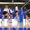 Hamilton College OH/RS Kate Carman (16)<br /> <br /> 10/1/21 8:22:46 PM Women's Volleyball:  Tufts University vs Hamilton College, at Margaret Bundy Scott Field House, Hamilton College, Clinton, NY<br /> <br /> Photo by Josh McKee