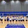 Team<br /> <br /> 10/1/21 7:03:51 PM Women's Volleyball:  Tufts University vs Hamilton College, at Margaret Bundy Scott Field House, Hamilton College, Clinton, NY<br /> <br /> Photo by Josh McKee
