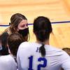 Hamilton College assistant coach Ashley Capone<br /> <br /> 10/1/21 7:12:01 PM Women's Volleyball:  Tufts University vs Hamilton College, at Margaret Bundy Scott Field House, Hamilton College, Clinton, NY<br /> <br /> Photo by Josh McKee