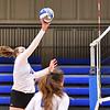Hamilton College OH/RS Kate Carman (16)<br /> <br /> 9/13/21 6:38:06 PM Women's Volleyball:  Utica College vs Hamilton College, at Margaret Bundy Scott Field House, Hamilton College, Clinton, NY<br /> <br /> Final: Utica 1   Hamilton 3<br /> <br /> Photo by Josh McKee
