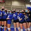 9/13/21 6:15:30 PM Women's Volleyball:  Utica College vs Hamilton College, at Margaret Bundy Scott Field House, Hamilton College, Clinton, NY<br /> <br /> Final: Utica 1   Hamilton 3<br /> <br /> Photo by Josh McKee