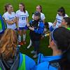 Hamilton College head coach Colette Gilligan, Team<br /> <br /> 9/8/21 4:00:22 PM Women's Soccer:  #12 Williams College vs Hamilton College, at Love Field, Hamilton College, Clinton NY<br /> <br /> Final:  #12 Williams 1    Hamilton 1<br /> <br /> Photo by Josh McKee