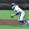 Hamilton College shortstop Ethan Harrast (11)<br /> <br /> 4/17/21 1:10:30 PM Baseball: Amherst College v Hamilton College at Loop Road Baseball/Softball Complex, Hamilton College, Clinton, NY<br /> <br /> Game 1:  Amherst  4    Hamilton  7<br /> Game 2:  Amherst  3    Hamilton  1<br /> <br /> Photo by Josh McKee
