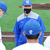 Hamilton College head coach Tim Byrnes, Team<br /> <br /> 4/17/21 1:30:29 PM Baseball: Amherst College v Hamilton College at Loop Road Baseball/Softball Complex, Hamilton College, Clinton, NY<br /> <br /> Game 1:  Amherst  4    Hamilton  7<br /> Game 2:  Amherst  3    Hamilton  1<br /> <br /> Photo by Josh McKee