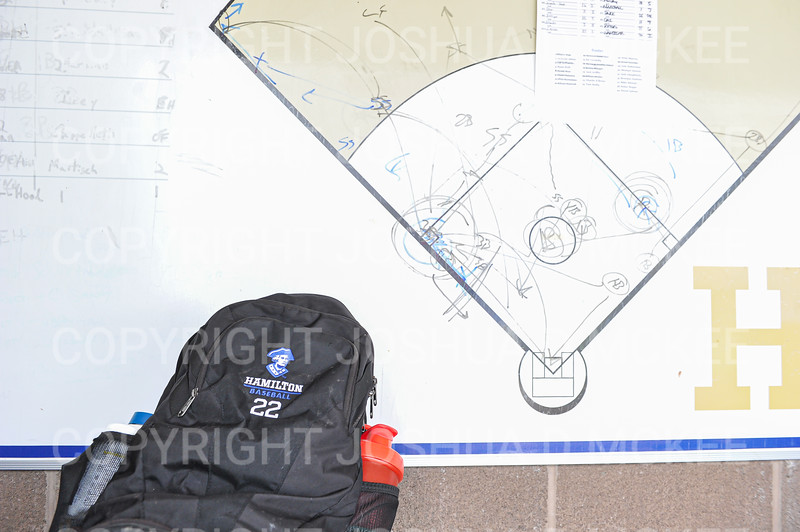 Equipment<br /> <br /> 4/17/21 1:13:44 PM Baseball: Amherst College v Hamilton College at Loop Road Baseball/Softball Complex, Hamilton College, Clinton, NY<br /> <br /> Game 1:  Amherst  4    Hamilton  7<br /> Game 2:  Amherst  3    Hamilton  1<br /> <br /> Photo by Josh McKee