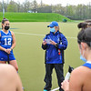 Hamilton College head coach Missy Mariano<br /> <br /> 4/28/21 5:25:55 PM Field Hockey: Hamilton College Blue/White Scrimmage at Goodfriend Field, Hamilton College, Clinton, NY<br /> <br /> Final: White 3    Blue 2<br /> <br /> Photo by Josh McKee