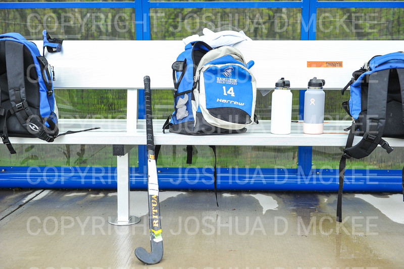 Equipment<br /> <br /> 4/28/21 5:10:04 PM Field Hockey: Hamilton College Blue/White Scrimmage at Goodfriend Field, Hamilton College, Clinton, NY<br /> <br /> Final: White 3    Blue 2<br /> <br /> Photo by Josh McKee