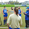 Hamilton College head coach Missy Mariano, Team<br /> <br /> 4/28/21 5:25:49 PM Field Hockey: Hamilton College Blue/White Scrimmage at Goodfriend Field, Hamilton College, Clinton, NY<br /> <br /> Final: White 3    Blue 2<br /> <br /> Photo by Josh McKee