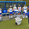 Hamilton College assistant coach Giovanna Fasanello, Team<br /> <br /> 4/28/21 5:25:32 PM Field Hockey: Hamilton College Blue/White Scrimmage at Goodfriend Field, Hamilton College, Clinton, NY<br /> <br /> Final: White 3    Blue 2<br /> <br /> Photo by Josh McKee