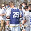 Hamilton College head coach Scott Barnard, Team<br /> <br /> 4/10/21 3:58:33 PM Men's Lacrosse:  #16 Wesleyan University v Hamilton College at Withiam Field, Hamilton College, Clinton, NY<br /> <br /> Photo by Josh McKee