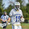 Hamilton College midfielder Alex Choy (19)<br /> <br /> 4/10/21 4:01:40 PM Men's Lacrosse:  #16 Wesleyan University v Hamilton College at Withiam Field, Hamilton College, Clinton, NY<br /> <br /> Photo by Josh McKee