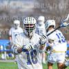 Hamilton College midfielder Tim Murray (18)<br /> <br /> 4/10/21 4:03:31 PM Men's Lacrosse:  #16 Wesleyan University v Hamilton College at Withiam Field, Hamilton College, Clinton, NY<br /> <br /> Photo by Josh McKee