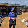 Hamilton College head coach Stephanie Hartquist<br /> <br /> 4/10/21 1:50:40 PM Softball:  Wesleyan University v Hamilton College, at Loop Road Softball/Baseball Complex, Hamilton College, Clinton, NY<br /> <br /> Hamilton 13   Wesleyan 5<br /> <br /> Photo by Josh McKee