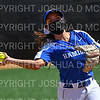Hamilton College INF/UTL Alessandra Priante (1)<br /> <br /> 4/10/21 1:24:02 PM Softball:  Wesleyan University v Hamilton College, at Loop Road Softball/Baseball Complex, Hamilton College, Clinton, NY<br /> <br /> Hamilton 13   Wesleyan 5<br /> <br /> Photo by Josh McKee