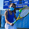 4/23/21 5:02:35 PM Hamilton College Men's and Women's Tennis Practice at the Tietje Family Tennis Center, Hamilton College, Clinton, NY<br /> <br /> Photo by Josh McKee