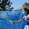 4/23/21 5:02:29 PM Hamilton College Men's and Women's Tennis Practice at the Tietje Family Tennis Center, Hamilton College, Clinton, NY<br /> <br /> Photo by Josh McKee