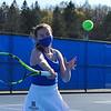 4/23/21 5:04:46 PM Hamilton College Men's and Women's Tennis Practice at the Tietje Family Tennis Center, Hamilton College, Clinton, NY<br /> <br /> Photo by Josh McKee
