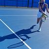 4/23/21 5:05:06 PM Hamilton College Men's and Women's Tennis Practice at the Tietje Family Tennis Center, Hamilton College, Clinton, NY<br /> <br /> Photo by Josh McKee