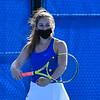 4/23/21 5:09:28 PM Hamilton College Men's and Women's Tennis Practice at the Tietje Family Tennis Center, Hamilton College, Clinton, NY<br /> <br /> Photo by Josh McKee