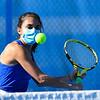 4/23/21 5:03:20 PM Hamilton College Men's and Women's Tennis Practice at the Tietje Family Tennis Center, Hamilton College, Clinton, NY<br /> <br /> Photo by Josh McKee