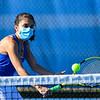4/23/21 5:03:21 PM Hamilton College Men's and Women's Tennis Practice at the Tietje Family Tennis Center, Hamilton College, Clinton, NY<br /> <br /> Photo by Josh McKee