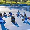 4/23/21 6:11:40 PM Hamilton College Men's and Women's Tennis Practice at the Tietje Family Tennis Center, Hamilton College, Clinton, NY<br /> <br /> Photo by Josh McKee