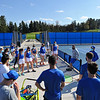 4/23/21 4:48:35 PM Hamilton College Men's and Women's Tennis Practice at the Tietje Family Tennis Center, Hamilton College, Clinton, NY<br /> <br /> Photo by Josh McKee