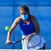 4/23/21 5:03:12 PM Hamilton College Men's and Women's Tennis Practice at the Tietje Family Tennis Center, Hamilton College, Clinton, NY<br /> <br /> Photo by Josh McKee