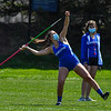 4/24/21 12:56:56 PM Track and Field:  Amherst College v Hamilton College at Pritchard Track, Hamilton College, Clinton, NY <br /> <br /> Photo by Josh McKee