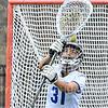 Hamilton College GK Casey Fiore (31)<br /> <br /> 4/11/21 2:44:08 PM Women's Lacrosse:  #10 Wesleyan University v Hamilton College at Steuben Field, Hamilton College, Clinton, NY<br /> <br /> #10 Wesleyan 9   Hamilton 17<br /> <br /> Photo by Josh McKee