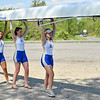 5/19/21 3:05:33 PM Hamilton College Rowing at the Rome Boathouse on the Erie Canal in Rome, NY<br /> <br /> Photo by Josh McKee