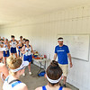 5/19/21 2:57:47 PM Hamilton College Rowing at the Rome Boathouse on the Erie Canal in Rome, NY<br /> <br /> Photo by Josh McKee