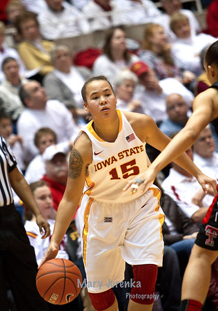 Iowa State Cyclone Women's Basketball vs Texas Tech(2013)