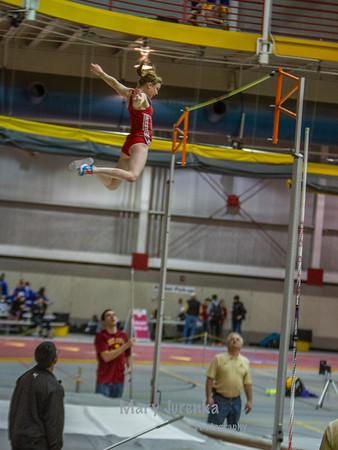Iowa State University Classic-annual track meet 2014  pole vault