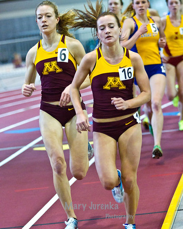Iowa State University Classic Track Meet-2013<br /> <br /> women's 3000 meter