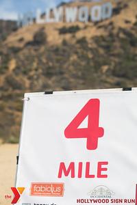 YMCA's 3RD ANNUAL HOLLYWOOD SIGN RUN.  www.ymcala.org/hollywood.  Photo by VenicePaparazzi.com