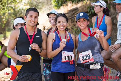 YMCA's 3RD ANNUAL HOLLYWOOD SIGN RUN.  www.ymcala.org/hollywood.  Photo by VenicePaparazzi.com