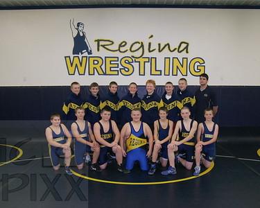Regina JH Wrestling 2011-2012
