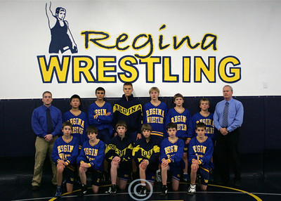 Regina Jr. High Wrestling 2008 - 2009