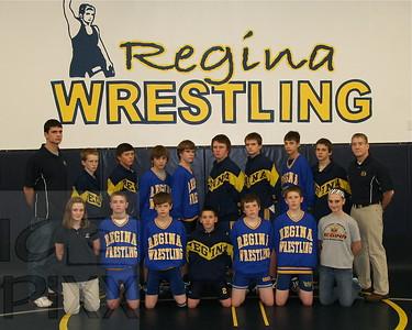 Regina Jr. High Wrestling 2010-2011