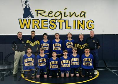 Regina Junior High Wrestling 2009-2010
